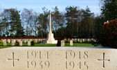 World war graves — Stock Photo