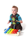 Child music xylophone — Stock Photo