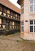 Historic houses architecture — Stock Photo