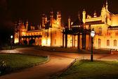 Brighton royal pavilion at night — Stock Photo