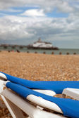 Seasideholiday resort Eastbourne pier England — Foto Stock