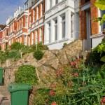 Victorian terrace houses — Stock Photo