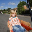 Child wagon cart estate — Stock Photo #4574162