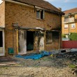 House fire burnt — Stockfoto
