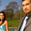 Stock Photo: Turkisk ethnic engagement wedding couple