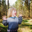 Child wood scared — Stock Photo #4574451