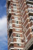 单位公寓阻止英格兰 — 图库照片