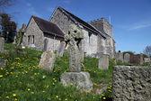 Church England medieval parish bramber — Stock Photo