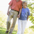 Royalty-Free Stock Photo: Senior couple on walk