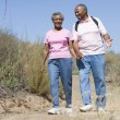 Senior couple on walk — Stockfoto #4753055