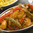 Stock Photo: Chicken Jalfrezi Restaurant Style