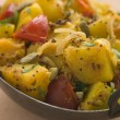 Bombay Aloo - Curried Potatoes - Stock Photo