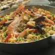Stock Photo: Prawn and Vegetable Biryani