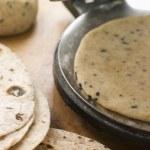 Chapatti Press with Chapatti Breads — Stock Photo #4753266