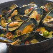 Mussels Cooked Bangladeshi Rezala Style — Stock Photo #4753278