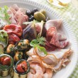 Platter of Antipasto — Stock Photo #4753645