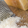 Grated Parmesan Cheese - Stock Photo