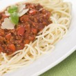 Spaghetti Bolognaise — Stock Photo #4753744