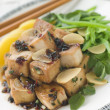 Fried Tofu With Caramelised sauce - Stock fotografie