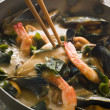 Japanese Seafood and Wakame Seaweed Curry — Stock Photo #4753887