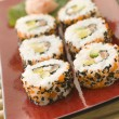 Inside-out Sushi Rolls - Foto Stock