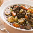 Rabo de Toro- Boneless Oxtail and Potato Stew - Stock Photo