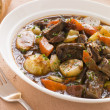 Rabo de Toro- Boneless Oxtail and Potato Stew — Stock Photo