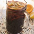 Jug of Sangria - Stock Photo