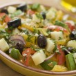 Bowl of Valencian Salad — Stock Photo