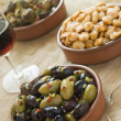 Selection of Tapas — Stockfoto