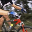 Man mountain biking — Stock Photo #4754593
