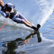 A young man water skiing — Stock Photo #4754755