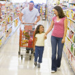 Family grocery shopping — Stock Photo #4757882