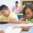Elementary school classroom — Stock Photo #4757886