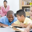 Elementary school classroom - Stock Photo