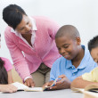 Elementary school classroom — Stock Photo #4757900