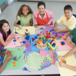 Elementary school art class — Stock Photo #4757955