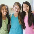 Group of elementary school friends - Stock Photo