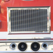 Detail of a fire engine — Stock Photo