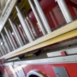 Stock Photo: Detail of a fire engine