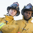 Royalty-Free Stock Photo: Portrait of firefighters