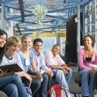 Stockfoto: Schoolchildren in high school class