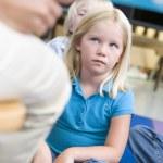 Girl in kindergarten class — Stock Photo #4759738
