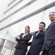 Royalty-Free Stock Photo: Group of business outside office building