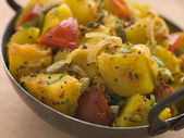 Bombay Aloo - Curried Potatoes — Stock Photo