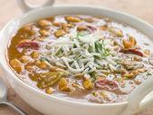 Miska zupa mulligatawny — Zdjęcie stockowe