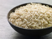 Uncooked Basmati Rice — Stock Photo