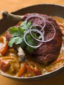 Dish of Makhani Chicken — Stock Photo