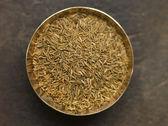 Dish of Cumin Seeds — Stock Photo