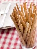 Grissini Bread Sticks — Стоковое фото